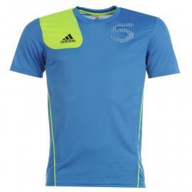 Tričko adidas adi 5 T Shirt Mens BlastBlue/Elec