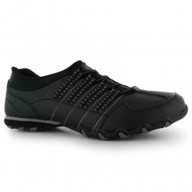 Boty Golddigga Nina Ladies Trainers Black/Grey