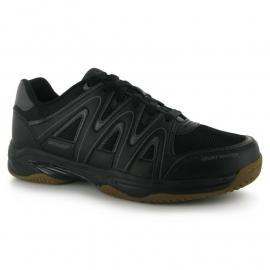 Boty Dunlop Indoor Court Mens Trainers Black