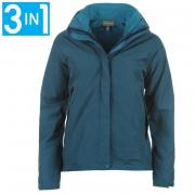 Bunda Sprayway Venus 3in1 Fleece Jacket Ladies Dark Calypso
