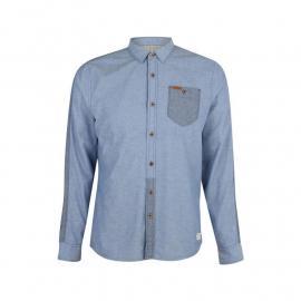 Košile Firetrap Blackseal Two Tone Mens Oxford Shirt Blue
