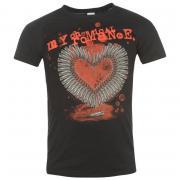 Tričko Official My Chemical Romance T Shirt Mens Smoking Gun