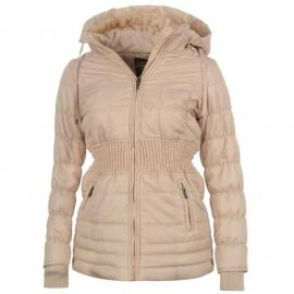 Bunda Golddigga Rich Luxury Jacket Ladies Nude