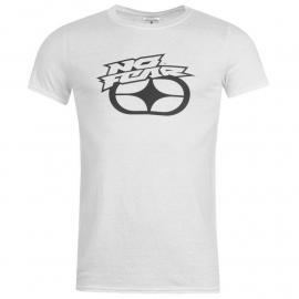 Tričko No Fear Graphic T Shirt Mens White - Button