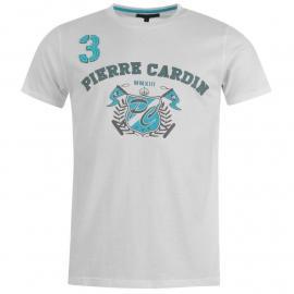 Tričko Pierre Cardin Cardin Applique T Shirt Mens Navy