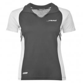 HEAD Polo Shirt Ladies Black