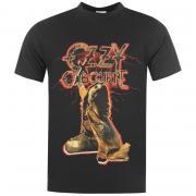 Tričko Official Ozzy Osbourne T Shirt Mens Black