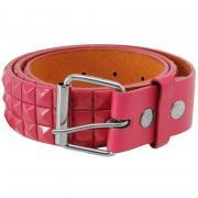 Pulp Studded Belt Mens Pink