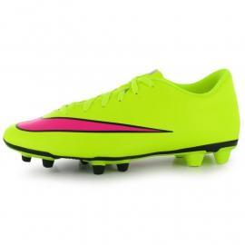 Nike Mercurial Vortex FG Mens Football Boots Volt/Hyper/Blk
