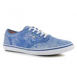 Vans Atwood Low Print Canvas Trainers Blue/White