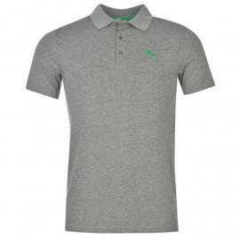Puma Jersey Polo Shirt Mens Grey