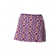 Sukně NORIC Noric Skirt Retro Jnr 42 Purple/White