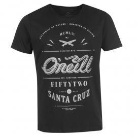 Tričko ONeill The Arc T Shirt Mens Black/Grey