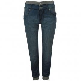 Voodoo Dolls Cuff Jeans Ladies Light Wash Velikost - 8 (XS)