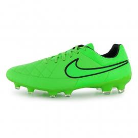 Nike Tiempo Legacy FG Mens Football Boots Green/Black