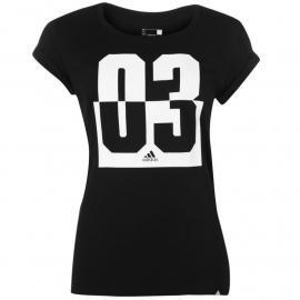 Adidas 03 Graphic TShirt Womens Black
