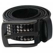 883 Police Quartz Logo Belt Black