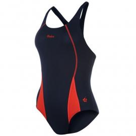 WaiKoa Ladies Open Training Back Swimsuit Black