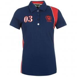Requisite Short Sleeve Polo Ladies Navy
