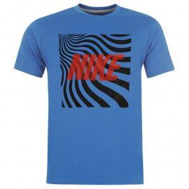 Tričko Nike QTT Art T Shirt Mens Royal