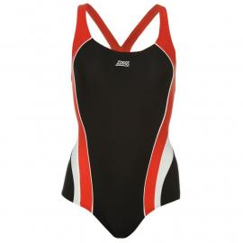Zoggs Noosa Flyback Swimsuit Womens Black