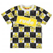 Tričko Character Short Sleeve T Shirt Infant Boys Simpsons