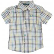 Košile Ben Sherman 56J Short Sleeved Juniors Shirt Multi