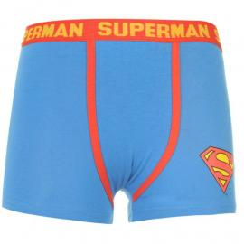 Mikina DC Comics Superman Single Boxer Shorts Junior Blue