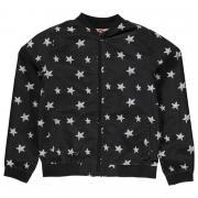 Lee Cooper Cooper Print Bomber Jacket Junior Girls AOP Stars