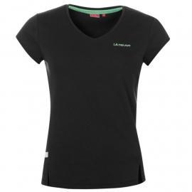 LA Gear V Neck T Shirt Ladies Navy
