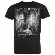 Tričko Official Justin Bieber T Shirt Mens Purpose