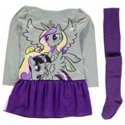 Character Dress and Tights Set Infant Girls My Little Pony
