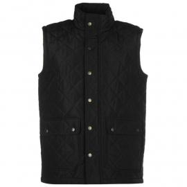 Pierre Cardin Quilted Gilet Mens Black