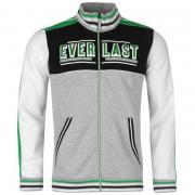 Mikina Everlast Funnel Neck Sweater Mens Grey Marl/White