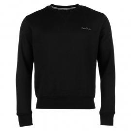 Pierre Cardin Crew Sweater Mens Black