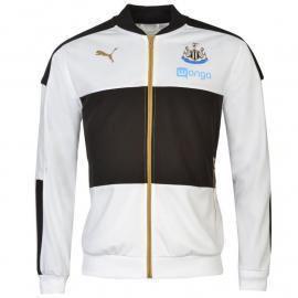 Mikina Puma Newcastle United Stadium Jacket Mens White/Black