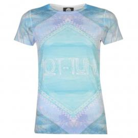 Hot Tuna Sub T Shirt Ladies Palm Aztec