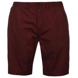 Kraťasy Pierre Cardin Chino Shorts Mens Burgundy
