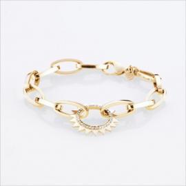 Storm Beam Bracelet Gold
