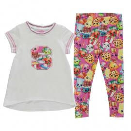 Character 2 Piece Jersey Set Infant Girls Shopkins
