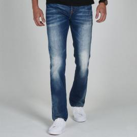 SoulCal Deluxe Slim Midwash Mens Jeans Mid wash
