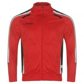Diadora Cape Town Jacket Mens Red/Black