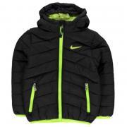 Nike Hood Padded Jacket Infant Boys Black