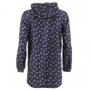 Lee Cooper Pack a Parka Navy Floral