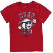 Nike Soccer Ball T Shirt Infant Boys Gym Red