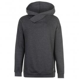 Mikina Soviet Cut and Sew Panel OTH Hoodie Charcoal Marl