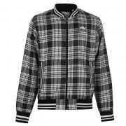 Everlast Check Rain Jacket Mens Black/White