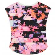 Nike Flower DriFit T Shirt Infant Girls White/Pink