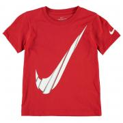 Tričko Nike Spliced Swoosh T Shirt Infant Boys University Red