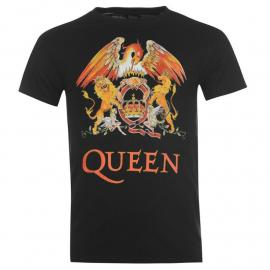 Tričko Official Queen T Shirt Mens Crest